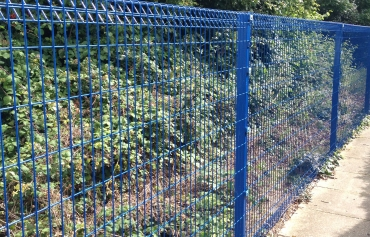 Commercial Mesh And Palisade Fencing Hampshire